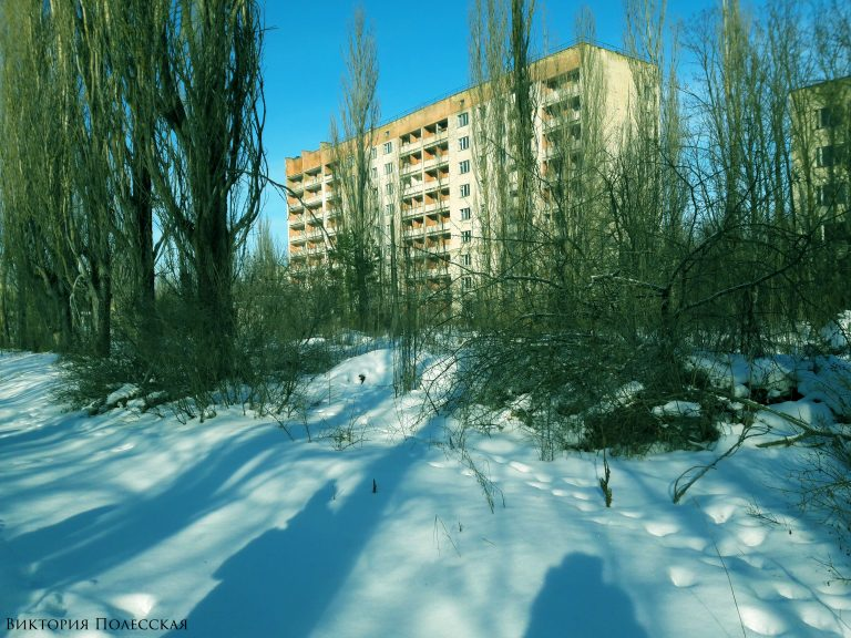 winter Pripyat