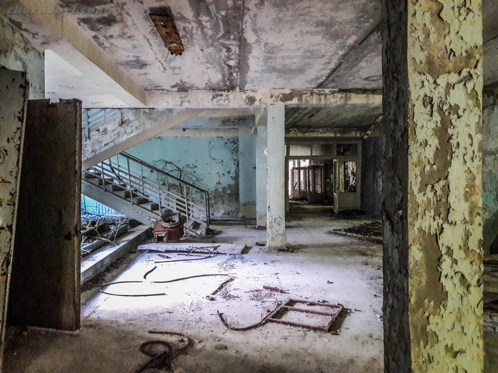 Children's polyclinic of Pripyat