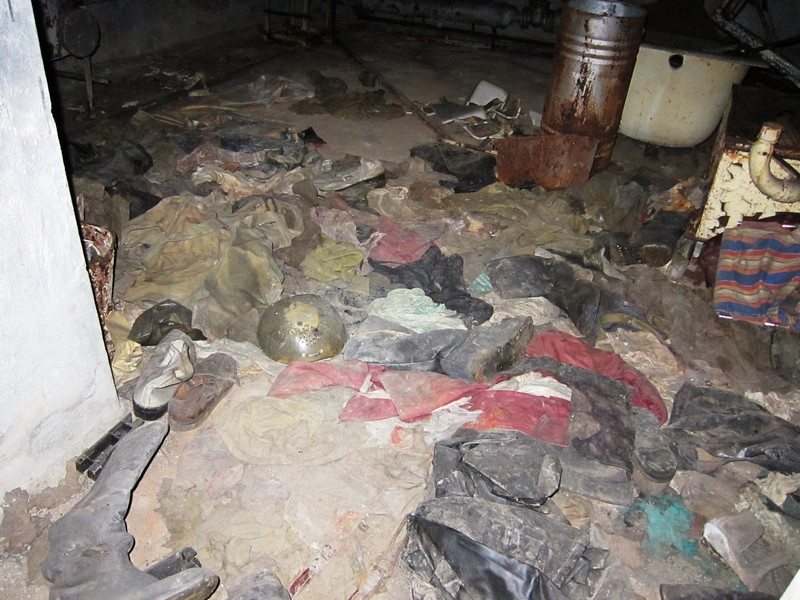 Basement hospital 126 pripyat