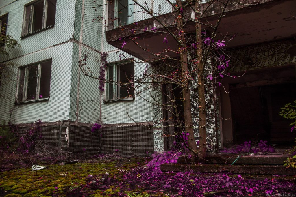 trip to the Chernobyl zone