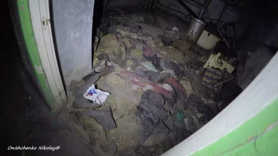 The Basement, in the hospital-126, Hell room in Pripyat