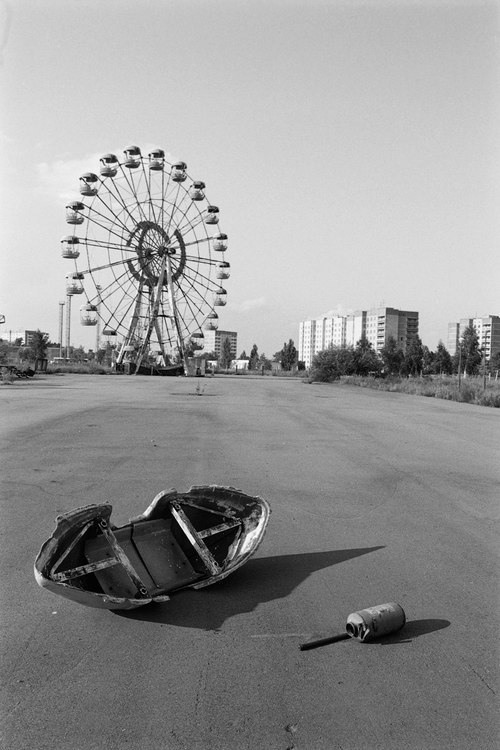 Сhernobyl amusement park before