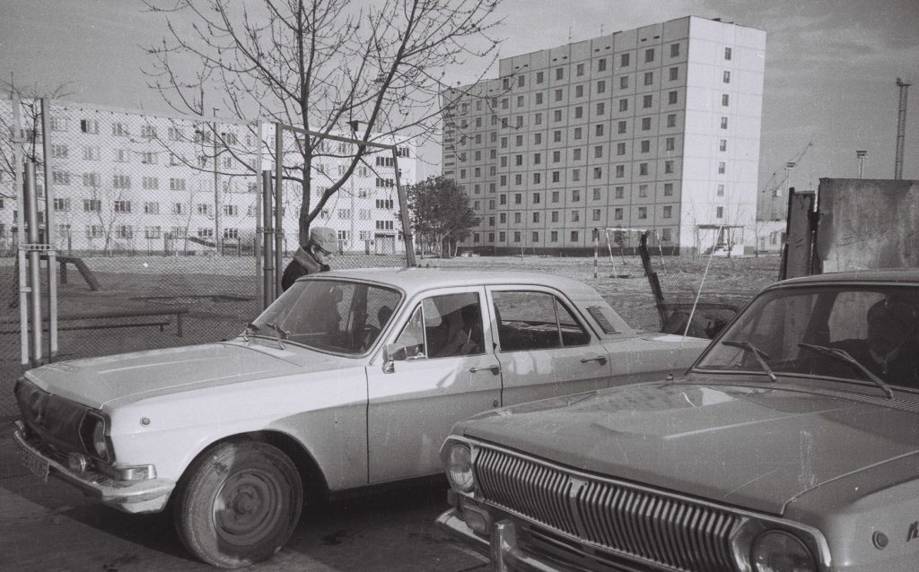 Pripyat after accident