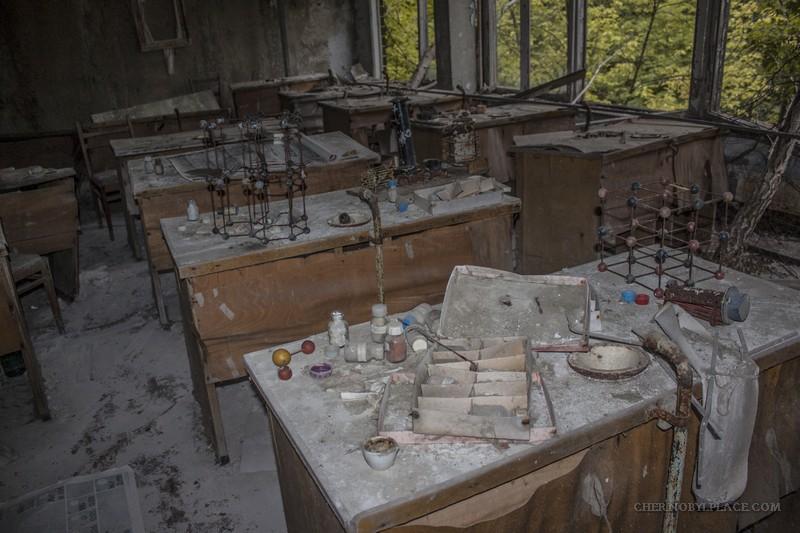 Kinder Garden: Abandoned School In Pripyat, Chernobyl Ukraine Today
