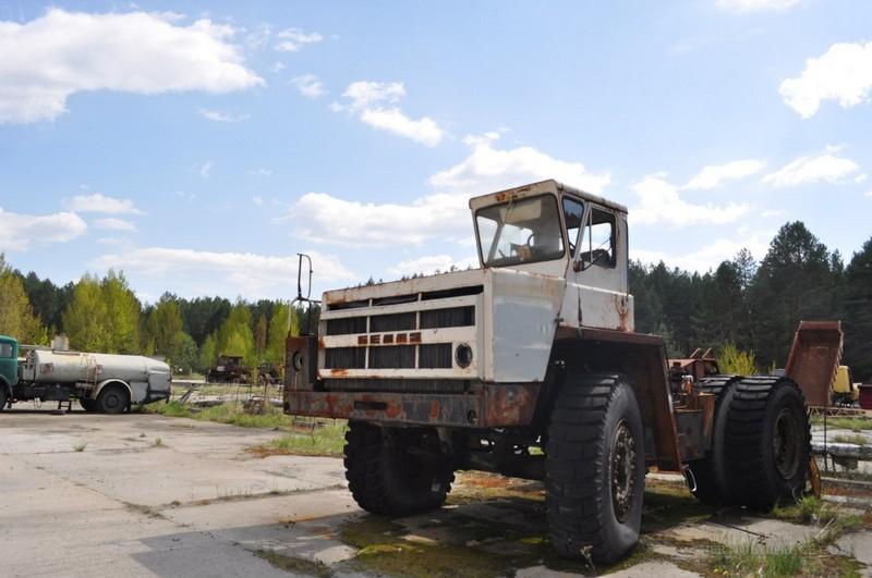 Chernobyl abandoned vehicles: abandoned and radioactive cars