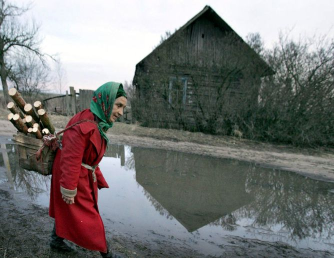 Self-settlers chernobyl zone