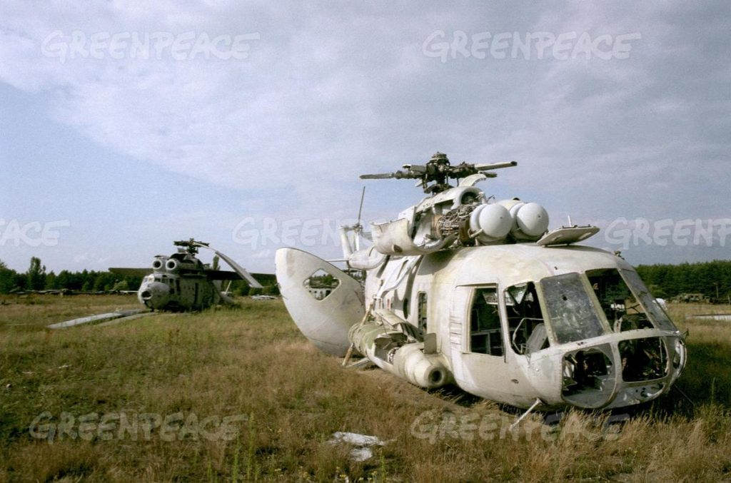 Chernobyl vehicles