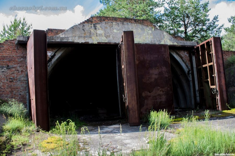 bunker in chernobyl zone