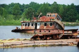 abandoned ships of chernobyl
