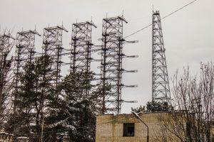 Duga radar antenna