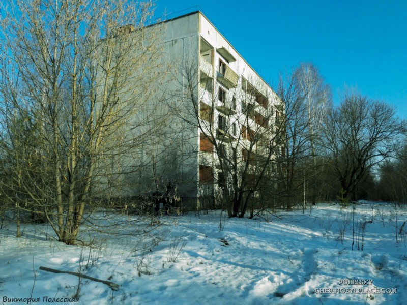 Poliske, city in the Chernobyl zone