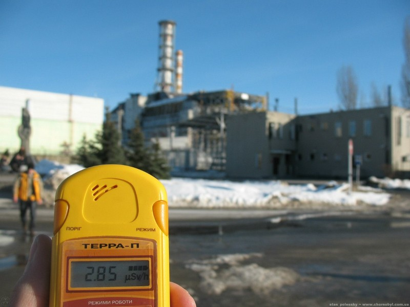 Chernobyl radiation levels
