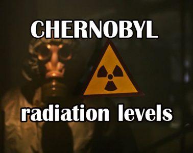 Chernobyl radiation levels
