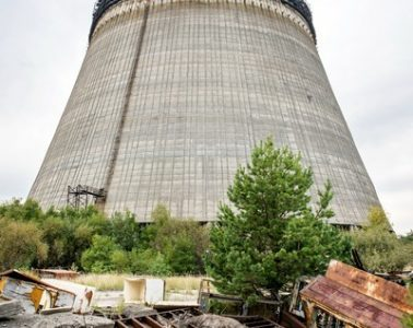 Cooling towers chnpp