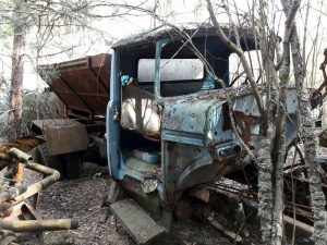 abandoned vehicles of chernobyl