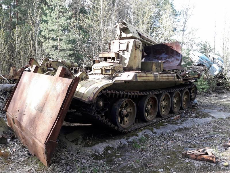 abandoned vehicles chernobyl