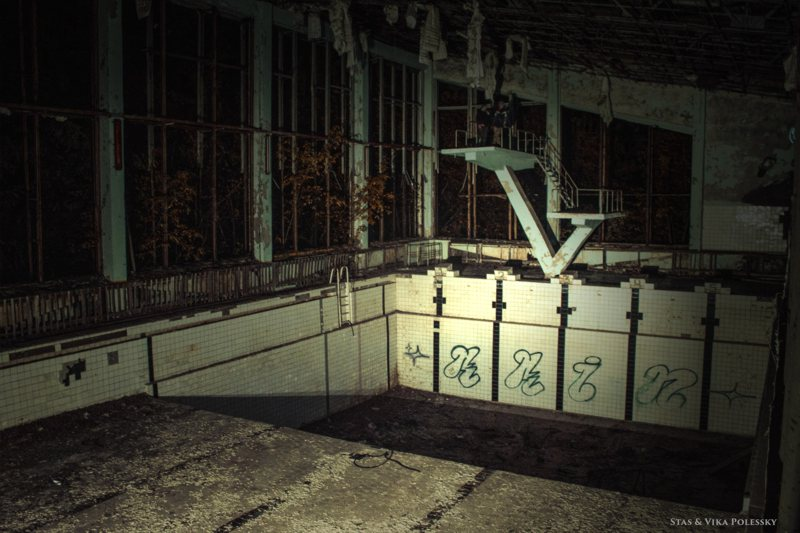 Pripyat night tour