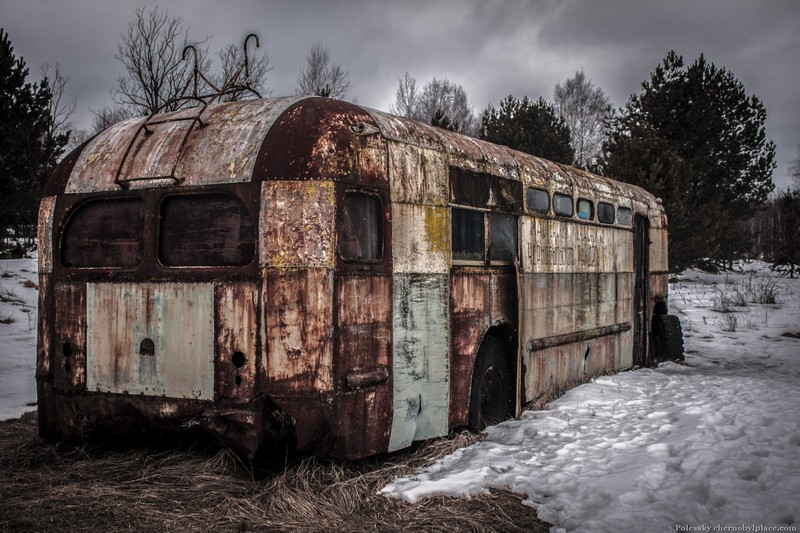 chernobyl exclusion zone photos