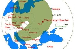 chernobyl radiation cloud