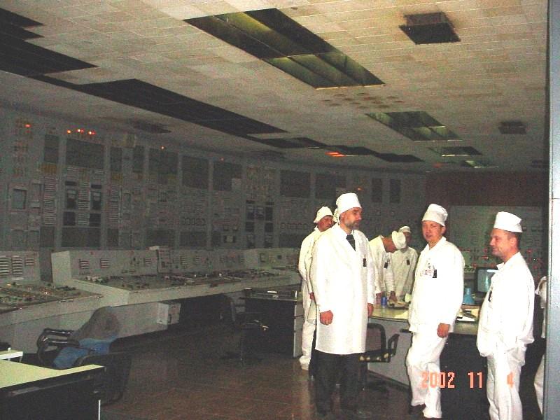 Chernobyl NPP 2002